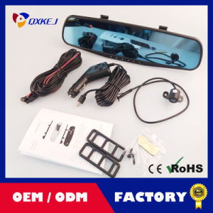 """Dual Camera 4.3"""" Dual Lens Dash Cam Recorder Full HD 1080P Rearview Two Cameras Parking Rear View Video Camcorder pictures & photos"""
