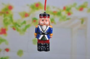 Gisela Graham Ceramic Nutcracker Soldier Christmas Tree Decorations pictures & photos