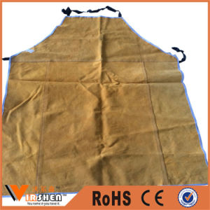 Wholesale Industrial Body Protective Safety Welder Leather Work Aprons pictures & photos