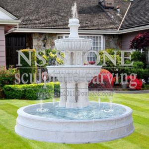Stone Outdoor Commercial Water (wall) Fountains for Gardens for Sale-Nsmf1701 pictures & photos