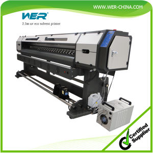Large Format Eco Solvent Printer for Photo Paper, Canvas, Banner Cloth and Flex Banner pictures & photos