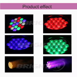 19*15W LED Moving Wash Zoom Stage Light with Pixel Control pictures & photos