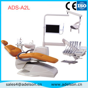 Computer Technology Dental Chair with Ceramic Cuspidor pictures & photos
