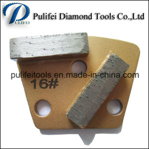 Trapezoid Metal Grinding Pad for Concrete Floor Grinding pictures & photos