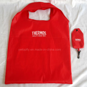 Promotional Gift Foldable Recycled Polyester Groceries Tote Shopping Bag pictures & photos