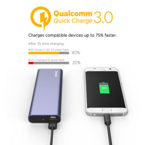 Easyacc Quick Charge 3.0 20000 Power Bank Charger pictures & photos