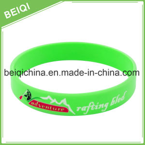 Cheap Promotional Silicone Bracelet with Custom Logo pictures & photos