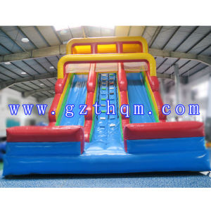 Attractive Jumping Castle Inflatable Water Slide/Inflatable Water Slide with Pool pictures & photos