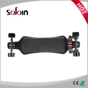 Carbon Fiber Skateboard Dual External Aeromodelling Motor Electric Bicycle (SZESK005) pictures & photos