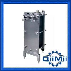 Ss304/316L Sanitary Stainless Steel Wort Cooling Plate Heat Exchanger NBR or EPDM pictures & photos