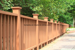 Hot Sale Outdoor Post WPC Gardening Fence K-Rl-25 pictures & photos