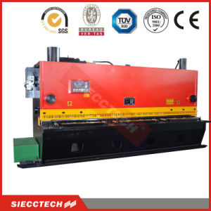 QC12k 8*4000 Hydraulic Sheet Metal Guillotine Shear, CNC Metal Sheet Guillotine Shearing Machine pictures & photos