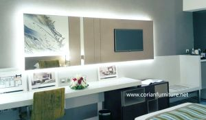 LG Corian Acrylic Solid Surface White Color Decorating Wall pictures & photos