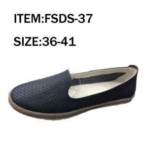 Black Fashion Leisure Shoes Women Shoes pictures & photos