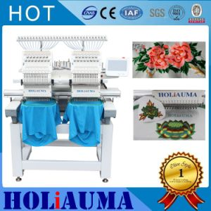 Two Heads Commercial 15 Needles Computerized Embroidery Machine Brother Software High Speed Best Sewing Machine Price Flat/Cap Embroidery Machine pictures & photos