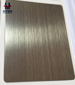 Red Copper Bronze Stainless Steel Decorative Plate pictures & photos
