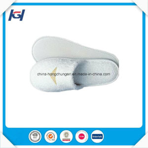 Cheap Wholesale Disposable Terry Cloth Hotel Slippers pictures & photos