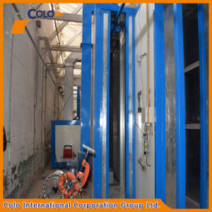 Tunnel Powder Coating Oven Warm up to 400F with Conveyor for Metal Door pictures & photos