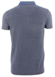 Men New Design Knitting Denim Fashion Stripe Polo Shirts Top Clothing (EE17071) pictures & photos