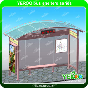 Customized Advertising Bus Stop Station with Lightbox pictures & photos