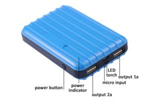 10000mAh Power Bank External USB Battery pictures & photos