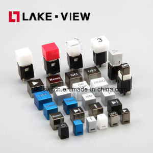 11*11mm Illuminated Dustproof Waterproof LED Tact Switch pictures & photos