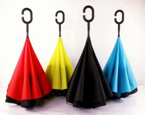 New Foreign Double-Layer Inverted Sunshade Umbrella