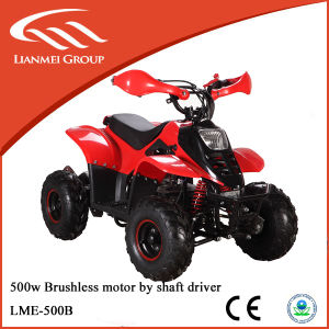 500W Shaft Drive ATV Electric Power ATV Quad Bike pictures & photos