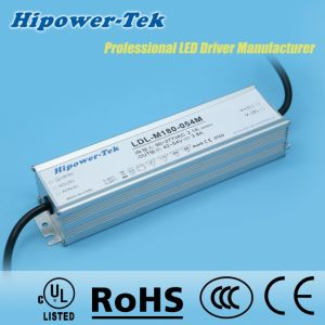180W Waterproof IP65/67 Outdoor Dimmable Power Supply LED Driver pictures & photos