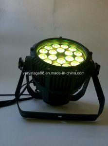 Outdoor Waterproof DMX Light RGBW 18X10W LED PAR pictures & photos