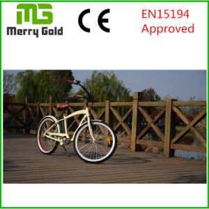 250W Brushless with Gear Motor Classic Cruiser Electric Bike pictures & photos