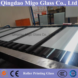 Roller Printing Glass /Furniture Glass/ Table Top Glass pictures & photos