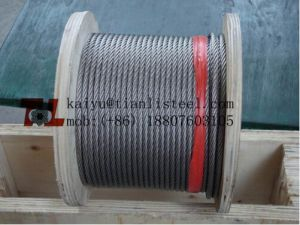 Ss304 7X7 Stainless Wire Rope pictures & photos