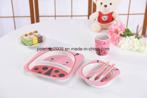 High Quality Animal Design Bamboo Fiber Kids Sets pictures & photos