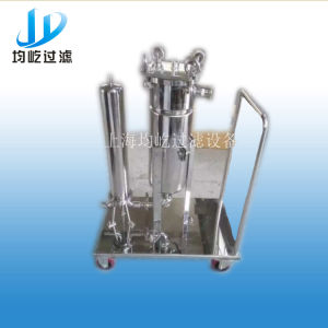 Sanitary Liquid Bag Filter with Trolley pictures & photos