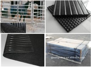 China Horse Stall Rubber Mats/Cow Horse Stable Rubber Mat pictures & photos