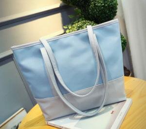 New Fashion Splicing Woman′s Handbags