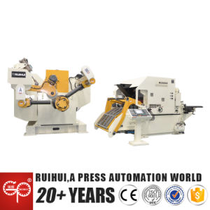 Automati Stamping Machine Hydraulic Feeding Decoiler Nc Straightener Feeder for Press Machine (MAC4-1600H) pictures & photos