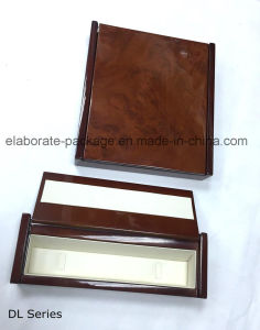 Special Shape Gloss Finish Hardwood with Woodpaper Jewellry Wood Case pictures & photos