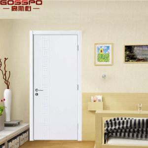 Custom Simple Teak Wood Room White Front Door (GSP2-110) pictures & photos