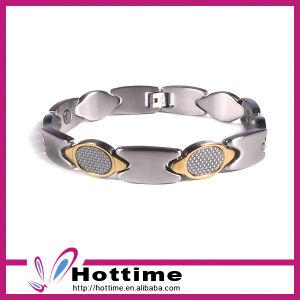Fashion Stainless Steel Carbon Fiber Bracelet (CP-JS-BL-148) pictures & photos