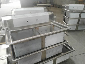 America Style Stainless Steel Restaurant Work Table pictures & photos