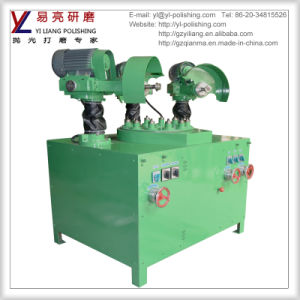 Auto Polish Machine for Small Parts Polishing with 3 Discs Grinding Wheel pictures & photos