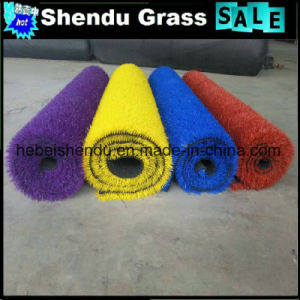 Artificial Grass Blue Color for Outdoor Landscape pictures & photos