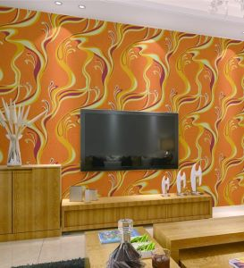 Made in China Cheap Price Wholesale 3D PVC Washable Modern Design Wallpaper pictures & photos