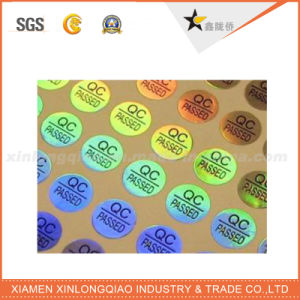 Customized Design 3D Hologram QC Passed Sticker pictures & photos