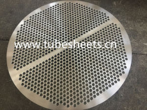 Heat Exchanger Equipment Bimetal Titanium/Steel Clad Tube Sheet Support Plate pictures & photos