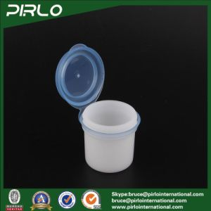 12g PP Plastic White Cosmetic Jar with Joint Cap Small Pharmaceutical PP Plastic Pot 12ml Plastic Dry Powder Jar pictures & photos
