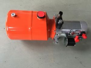 DC Single Actinghydraulic Power Unit for Dump Trailer pictures & photos