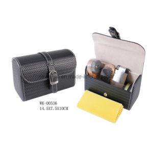 Classic Black 6PCS Shoe Care Tools Men Shoe Care Set Shoe Shine Kit pictures & photos